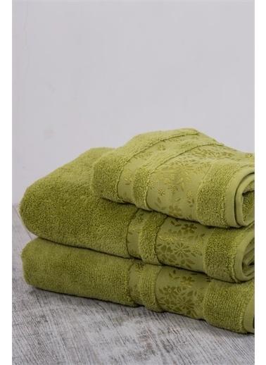 Varol Varol Micro Cotton Banyo Havlusu 90X150 - Yeşil Renkli